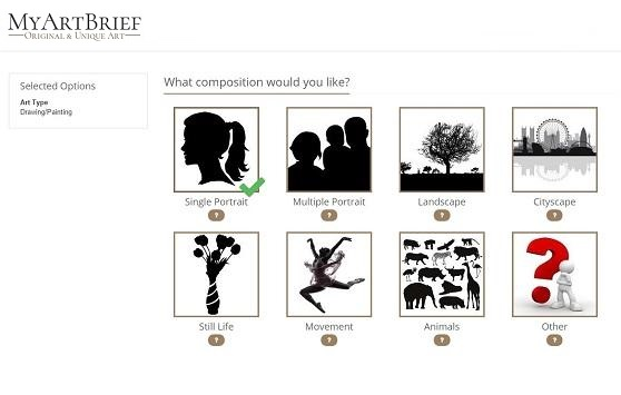 Create Brief for Art Commission by Art Composition